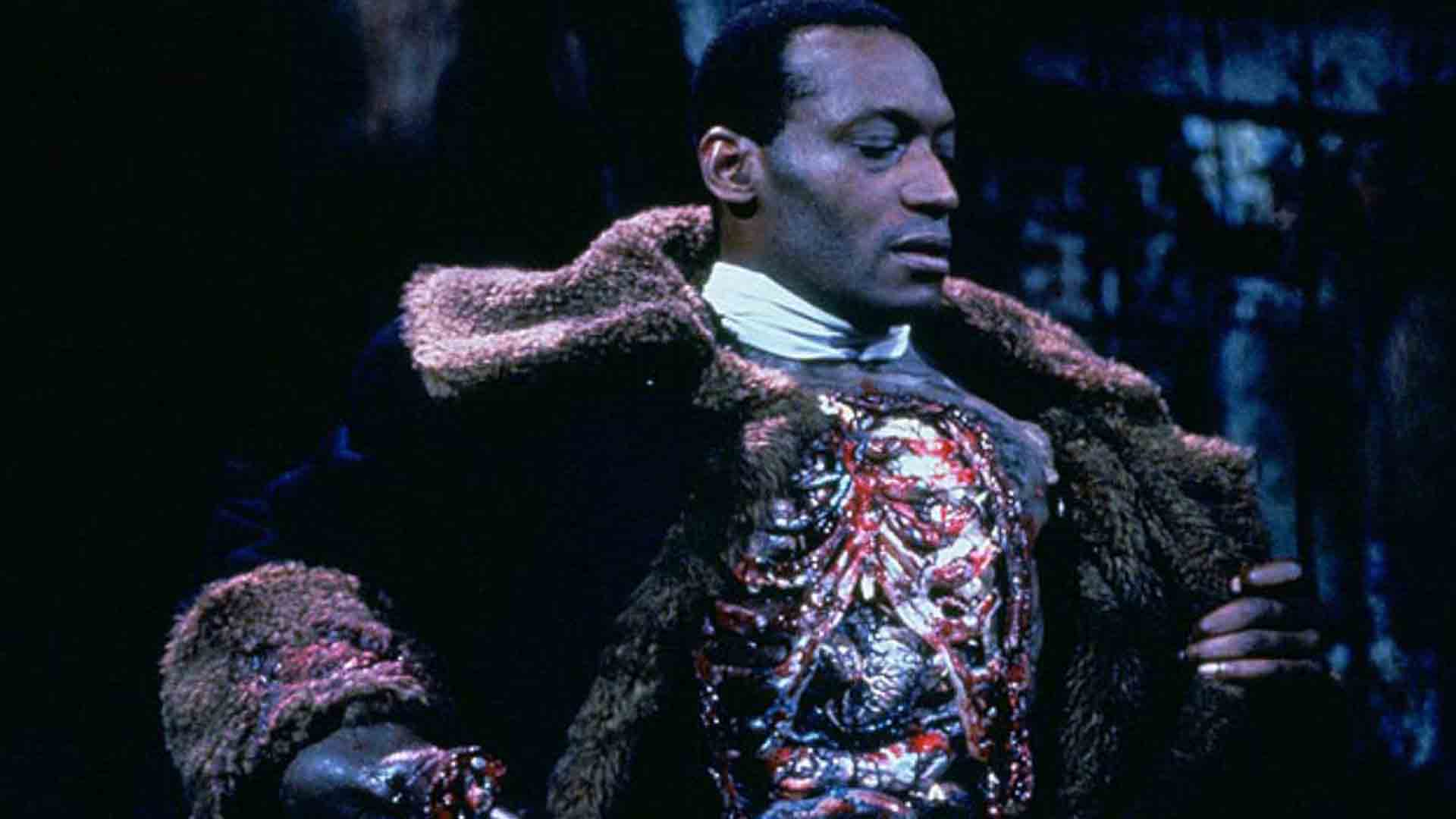 Tony Todd as my Kennedy character in Candyman