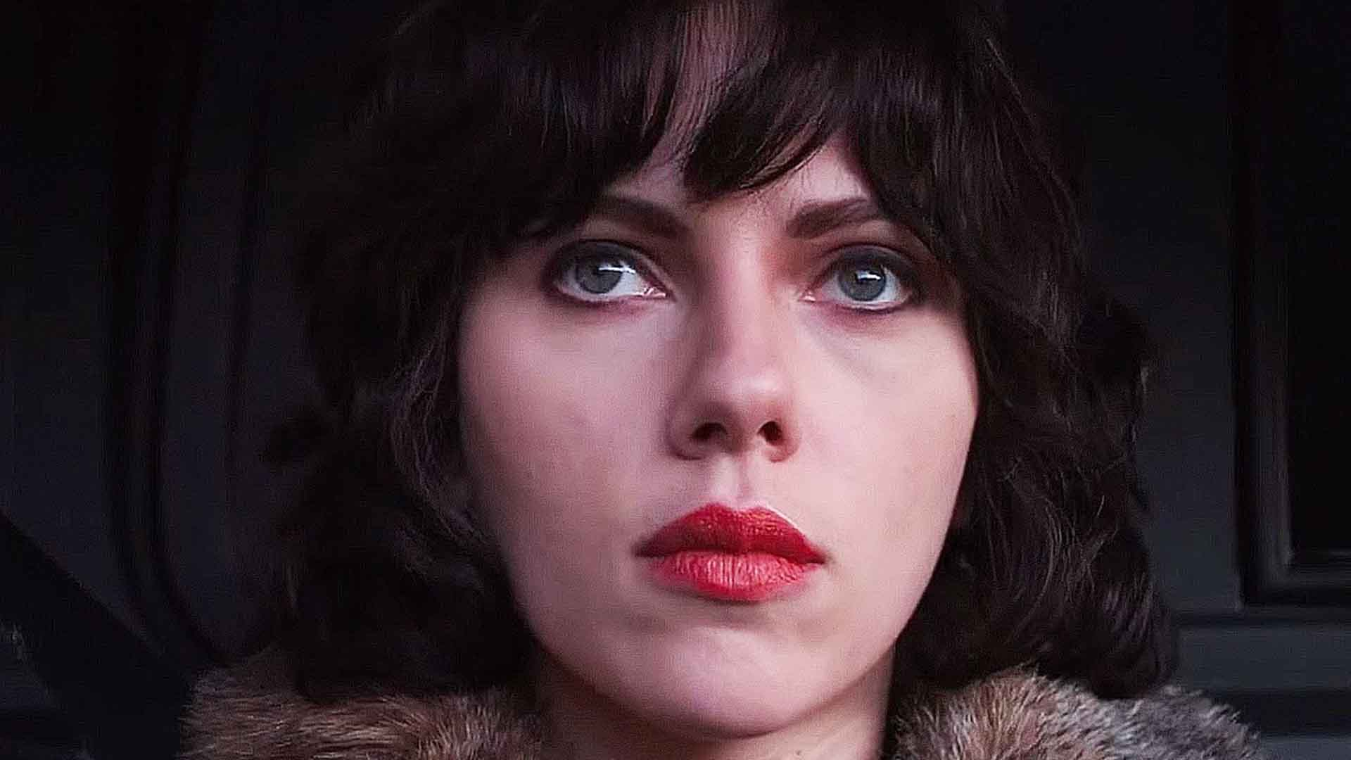 Scarlett Johansson as an alien in Under the Skin