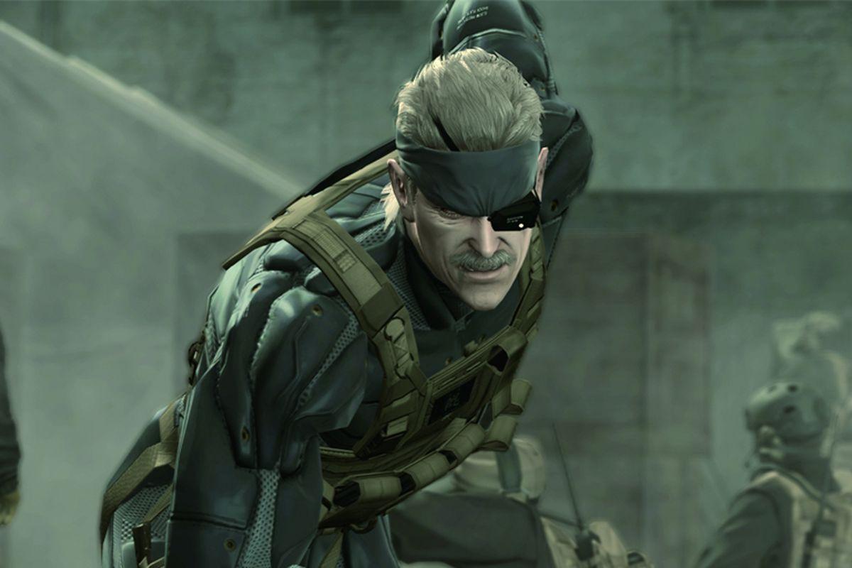 شخصیت اصلی بازی Metal Gear Solid