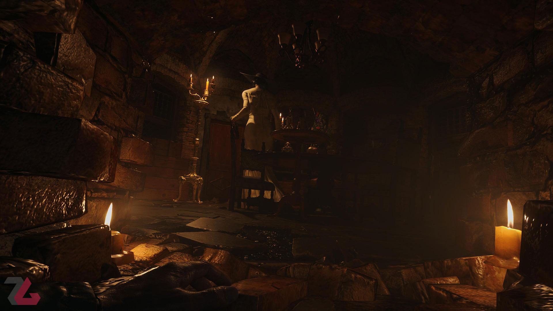 لیدی دیمیتریسک در Resident Evil Village