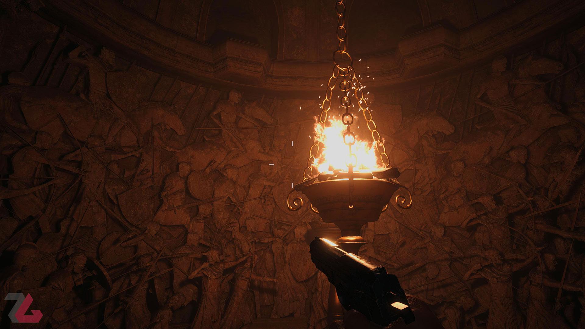 حل معما در Resident Evil Village