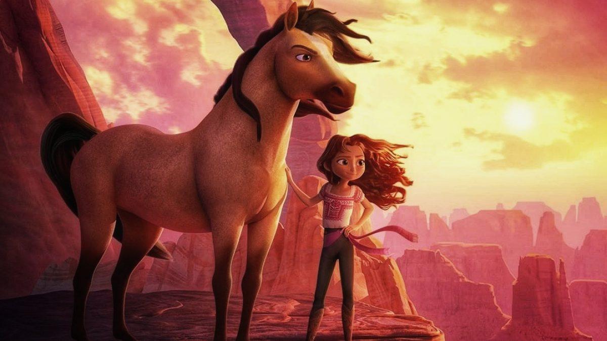 اسپریت و سوارکارش در انیمیشن اسپریت روح رام نشده