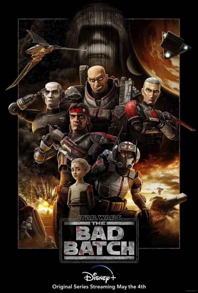پوستر جدید انیمیشنStar Wars: The Bad Batch