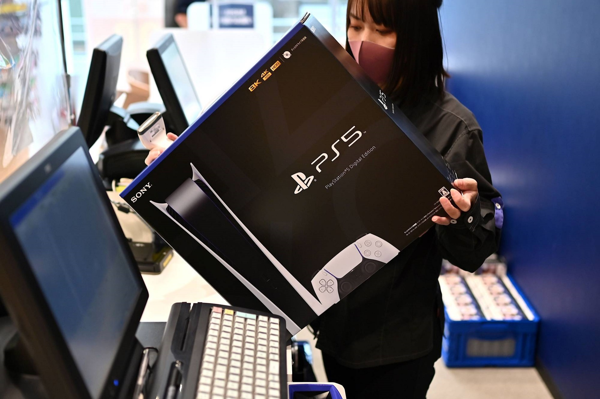 خرید کنسول پلی استیشن 5 دیجیتال در ژاپن