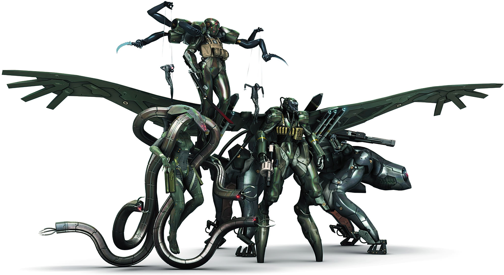 Beauty and the Beast Unit Metal Gear Solid 4