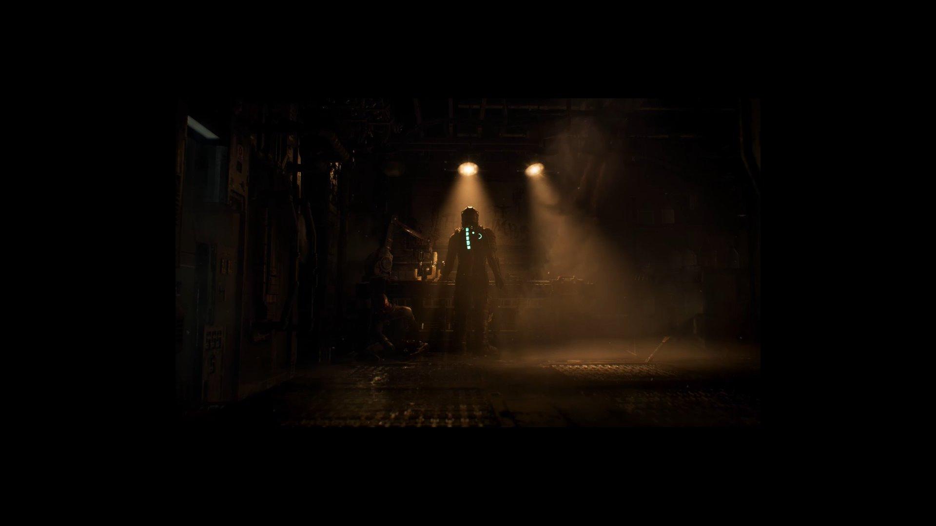 آیزاک کلارک در بازسازی دد اسپیس