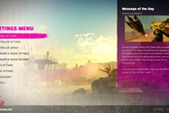 Rage 2 Setting Menu