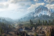 The Witcher 3 panorama