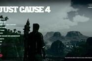 Just Cause 4 MAIN MENU